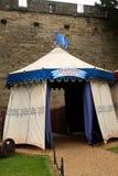 中世纪帐篷 免版税图库摄影