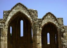 中世纪废墟 免版税库存图片