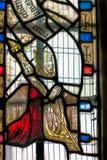 中世纪彩色玻璃 免版税库存图片