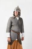 中世纪战士 免版税库存图片