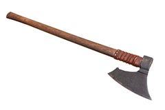 中世纪战斧 免版税库存图片