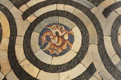 中世纪拼花地板 免版税库存图片