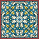 中世纪方巾照明 免版税库存照片