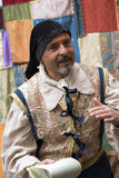 中世纪服装当事人 图库摄影
