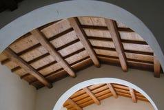 中世纪木天花板 库存图片