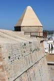 中世纪本营在Ibiza 免版税库存图片
