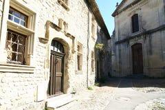 中世纪村庄在普罗旺斯 免版税库存照片
