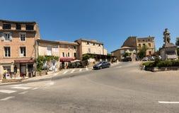 中世纪村庄戈尔代,横谷,普罗旺斯Alpes CÃ'te d ` Azur,普罗旺斯, 免版税库存照片