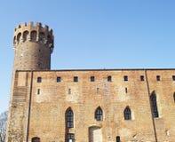 中世纪条顿人城堡在波兰 免版税库存图片