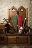 中世纪武器 免版税库存照片