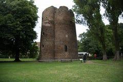 中世纪母牛塔在诺威治 库存照片
