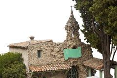 中世纪法国教堂覆盖物 库存照片