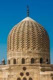 中世纪清真寺关闭圆屋顶  免版税库存图片
