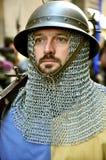 中世纪游行在意大利 免版税库存图片
