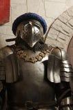 中世纪烈士的骑士 免版税库存图片