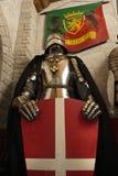 中世纪烈士的骑士 库存照片