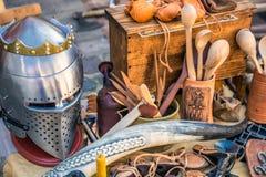 中世纪狂欢节在里加 免版税库存图片