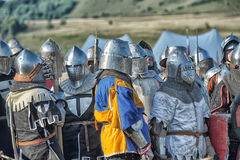 中世纪的争斗 免版税库存图片
