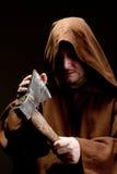 中世纪的刽子手 免版税库存图片