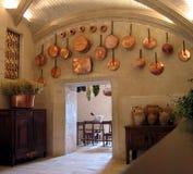 中世纪的厨房 库存照片