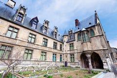 musee de Cluny在巴黎 免版税库存照片
