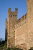 中世纪的城堡 免版税图库摄影