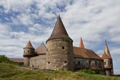 中世纪的城堡 库存图片