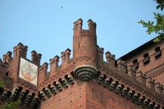 中世纪的城堡 免版税库存照片
