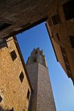 中世纪的城市 免版税图库摄影