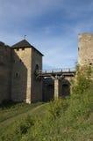 中世纪的堡垒 图库摄影