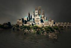 中世纪的堡垒 库存图片