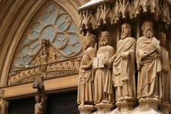 中世纪的大教堂 免版税库存照片