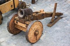 中世纪的大炮 免版税图库摄影