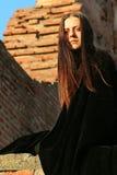 中世纪的夫人 库存图片