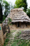 中世纪的小屋 免版税库存图片