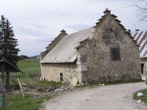 中世纪的房子 库存照片