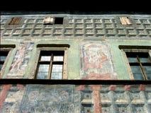 中世纪的房子 免版税库存照片
