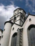 中世纪的教会 免版税库存照片
