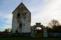 中世纪的教会 库存照片