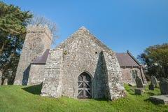 中世纪的教会 免版税库存图片