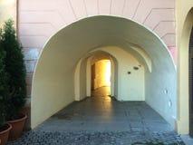 中世纪的曲拱 库存照片