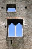 中世纪的曲拱 免版税图库摄影