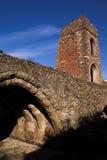 中世纪的桥梁 免版税库存图片