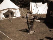 中世纪的比赛 图库摄影
