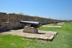 中世纪的火炮 免版税库存照片