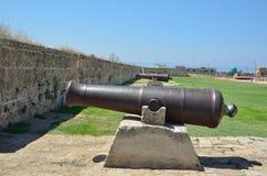 中世纪的火炮 图库摄影