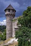 中世纪的监狱 免版税库存图片