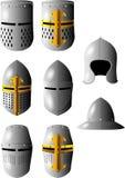 中世纪的盔甲 库存图片