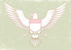 中世纪的老鹰 免版税库存图片