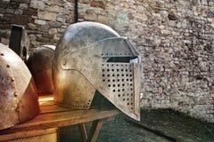 中世纪的装甲 免版税库存照片